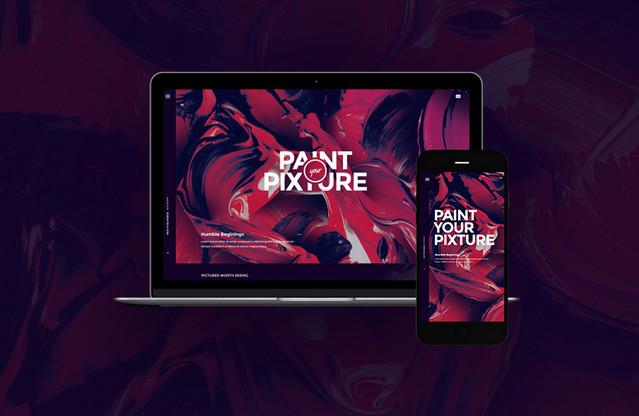 purple homepage