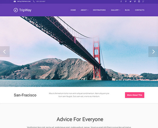 tripway - template