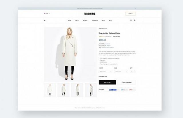 bonfire - product page