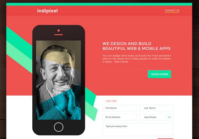 indiepixel - template