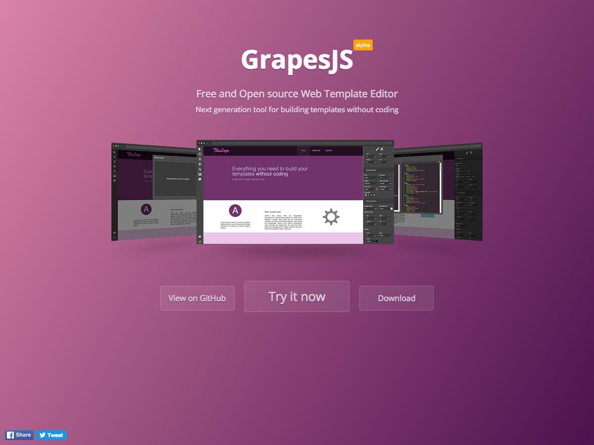 grapesjs