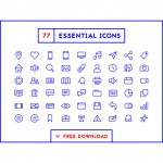 29 Of The Best Minimalist Icons For Web Design Projects