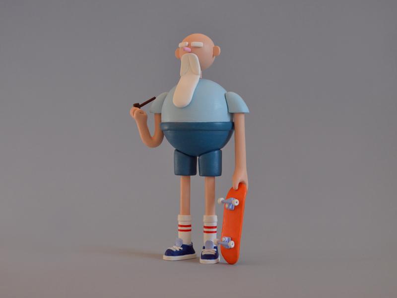 6-inch Skatergramps