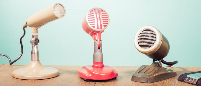 finding design voice microphone vintage retro