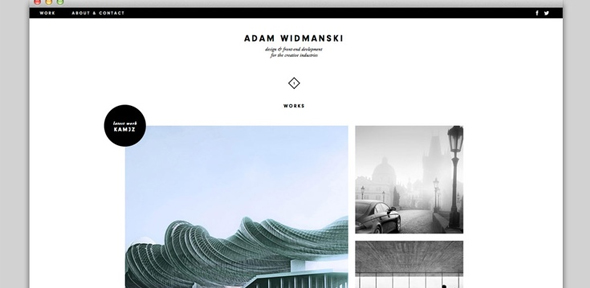 Webdesign-Grid-based-minimal-portfolio-website