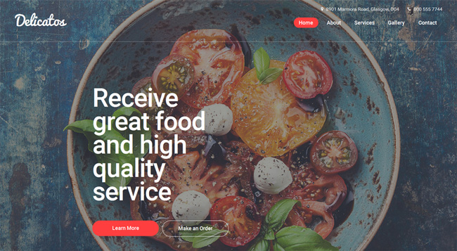delicatos-website-template