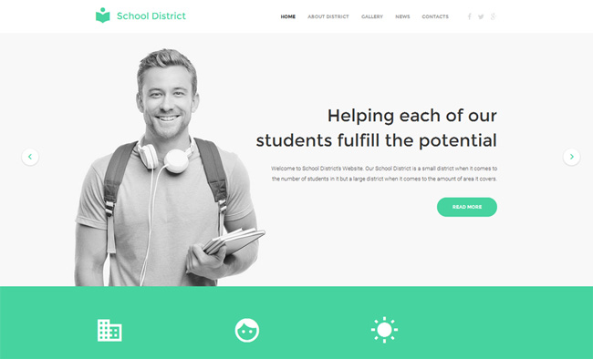 education-responsive-website-template
