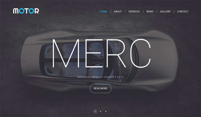motor-website-template