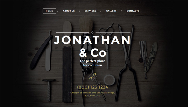 hair-salon-website-template