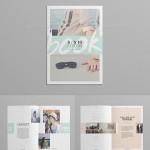 35 Free Magazine Template Designs