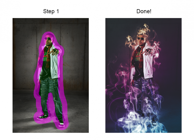 Free Photoshop Actions: Super Smoke Effects - iDevie