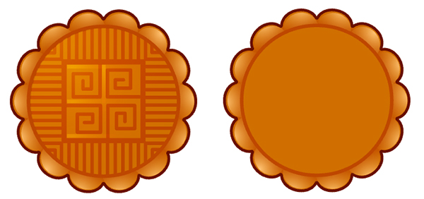 Our mooncake design and mooncake template