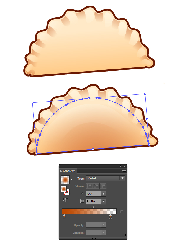 Render your final dumpling design