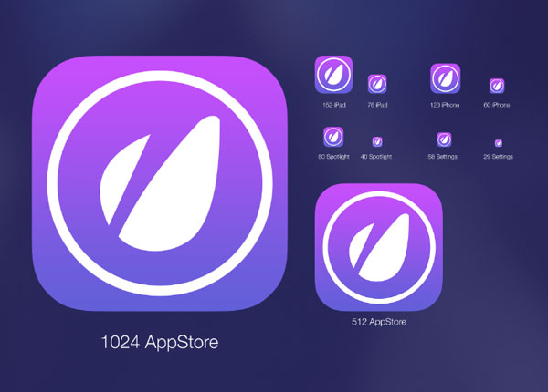 20 useful ios icon amp app template resources idevie app icon creator with flat shadow generator pronofoot35fo Image collections