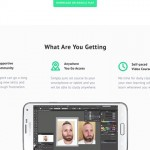 Design an App Landing Page in Photoshop