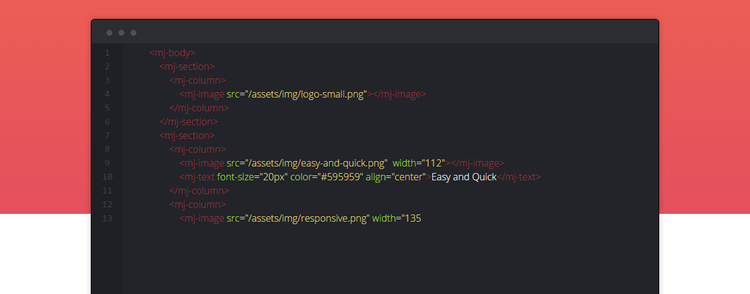 MJML framework that makes responsive-email easy