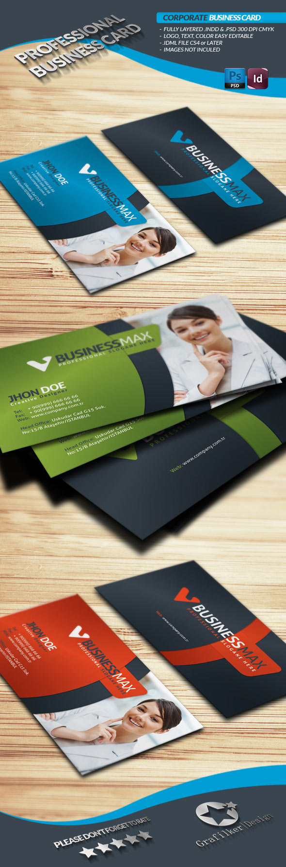 InDesign PremiumBusiness Card Template