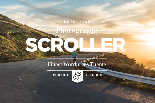 Scroller - Parallax Scroll  Responsive Theme