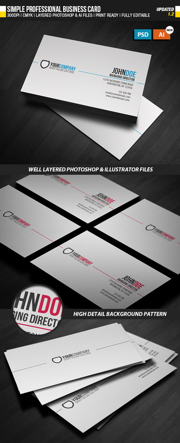 15 Premium Business Card Templates (In Photoshop, Illustrator, &amp ...