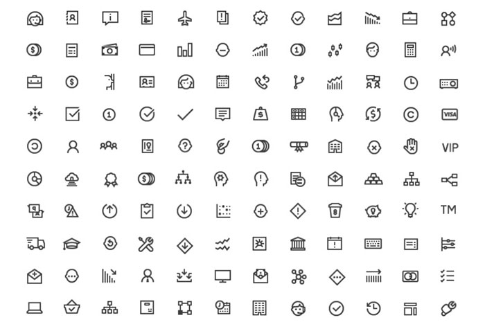 Startup – 150 Free Business Line Icons