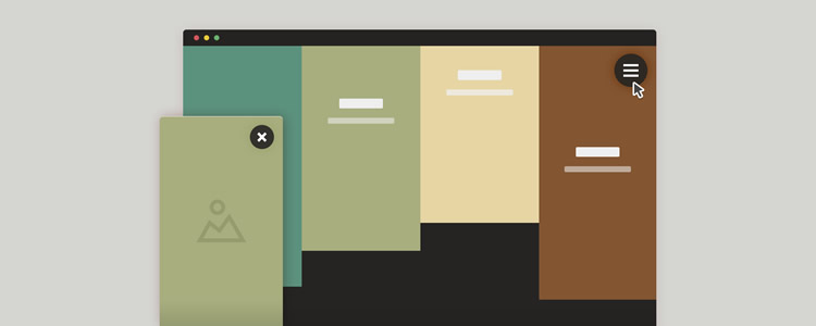Sliding Panels Template in CSS and jQuery
