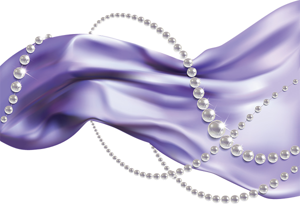 Pearls and Fabric