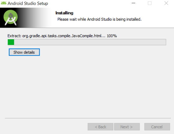 Android Studio Installation