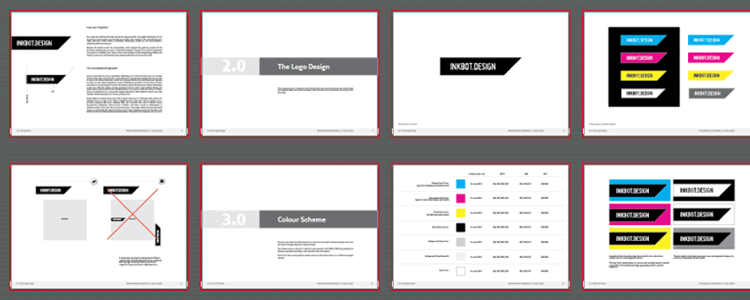Brand Guidelines Template ai illustrator