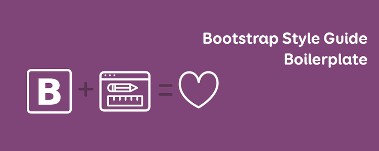 Bootstrap Style Guide Boilerplate
