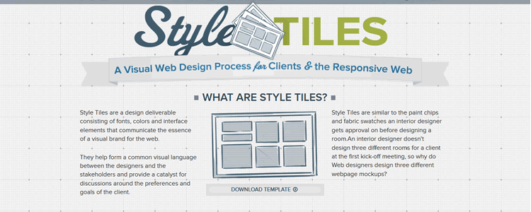 Style Tiles psd