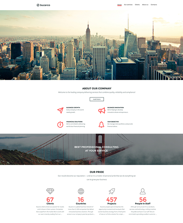 22.1 business html5 template