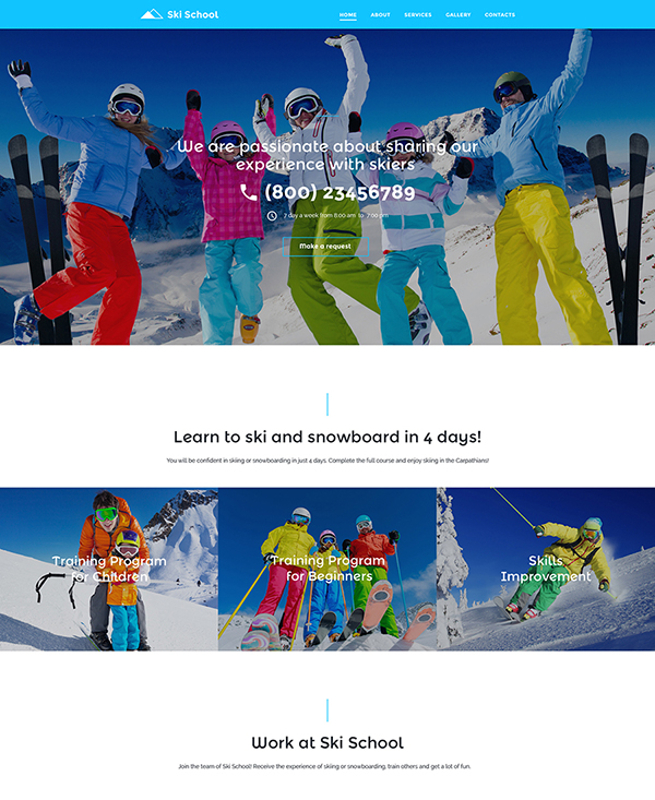 37. 1 sports html5 website template
