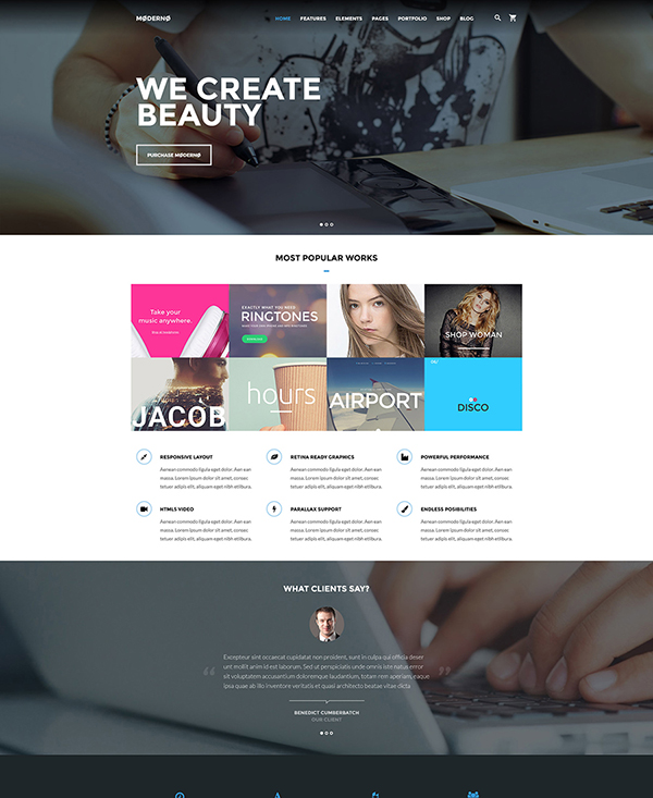 50. 1 html5 website template