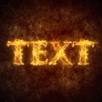 Create a Simply Fiery Text Effect in Photoshop