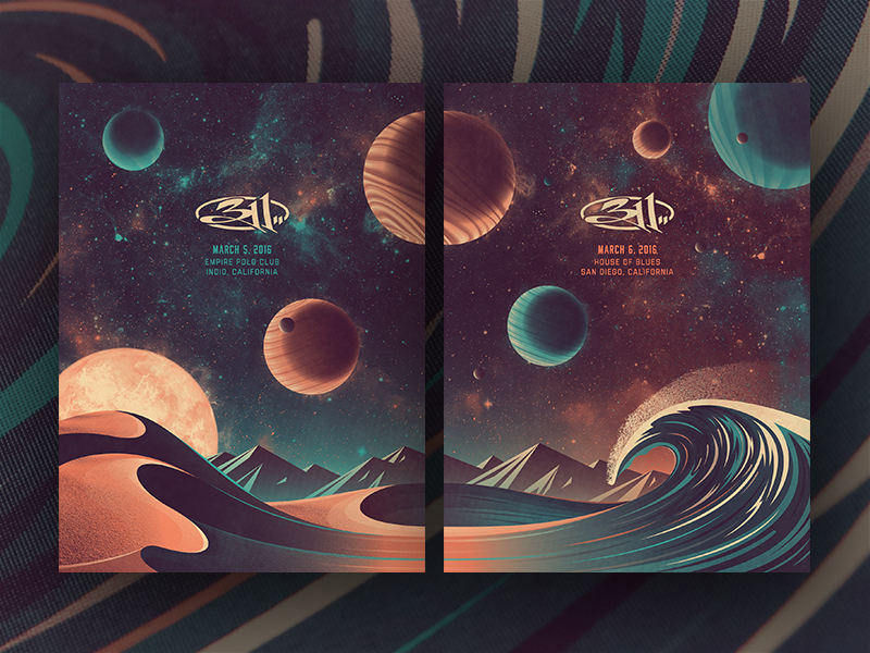 311 Southern California Posters