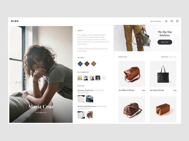 Hide Designer Page