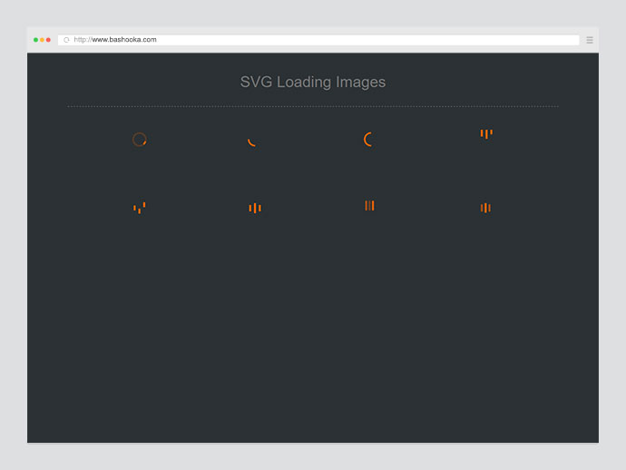 SVG Loading icons