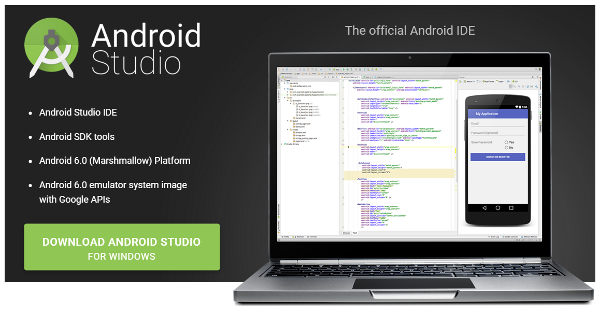 Android Studio Download Page