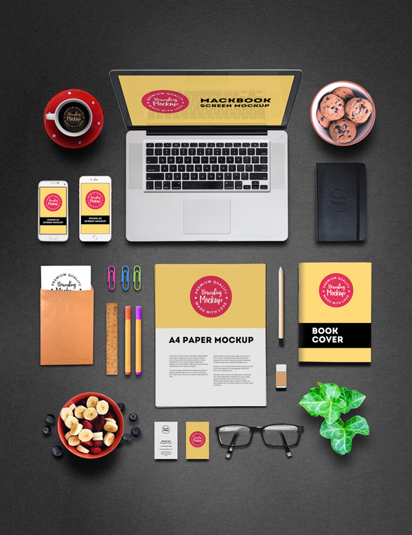 Free Professional Branding Mockup PSD