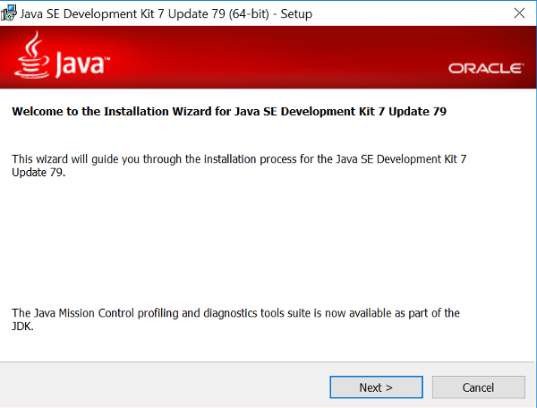 JDK Installer on Windows