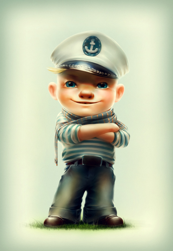 Sailor Character Design