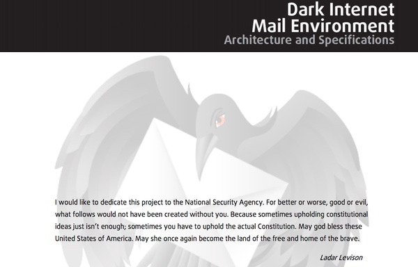 Dark Mail Specifications Dedication