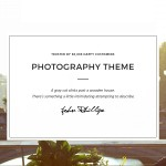 8 Photography Portfolio Themes for WordPress