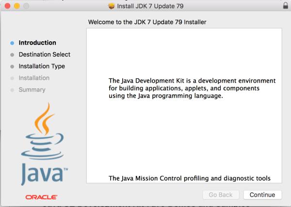 JDK Installer on OS X