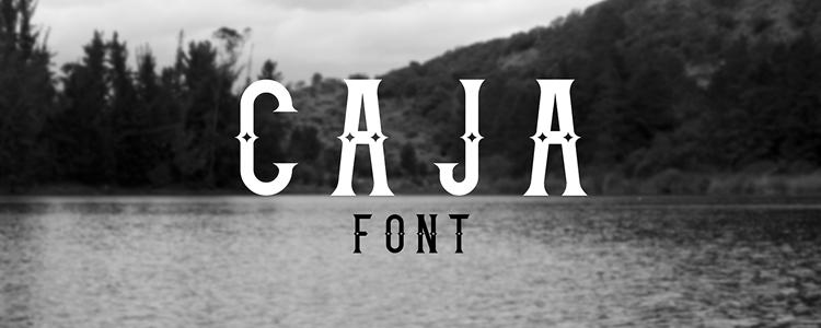 Caja Free Font