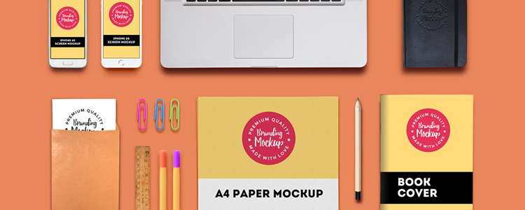 Free Branding Identity Mockup Template PSD