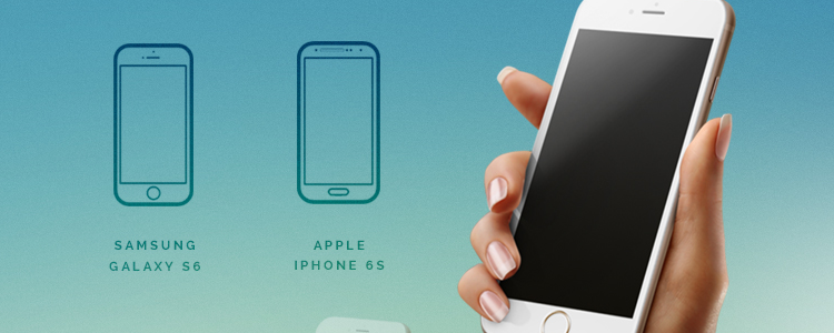 iPhone 6 Android Mockup Templates PSD