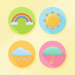 How to Create Flat Weather Icons in AdobePhotoshop