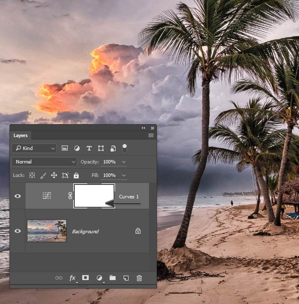 Adjustment Layers contain a mask you never asked for