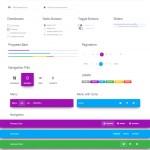 Material Kit – A Badass Bootstrap UI Kit Based on Material Design